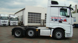MERCEDES ACTROS MP4 2551  3OSIE Euro 5  2012r.